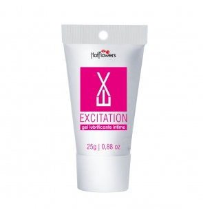 Gel Bisnaga Excitation Blister Rosa Esquenta 25g