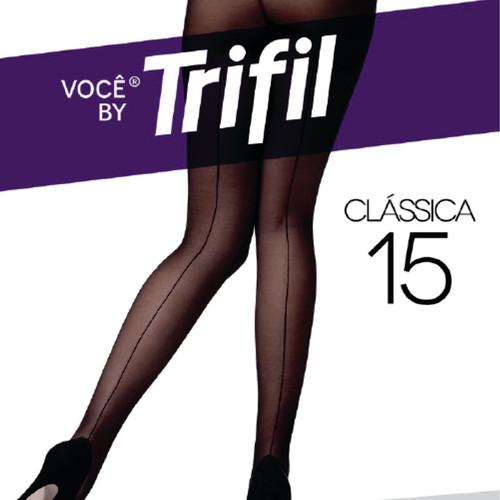 8a6ac04e6 Meia Calça Risca Atrás Fio 15 Tam G Preto - Fio 20 - Hot Sul ...